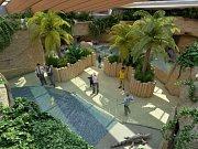 Vizualizace Afrického tropického pavilonu v olomoucké zoo