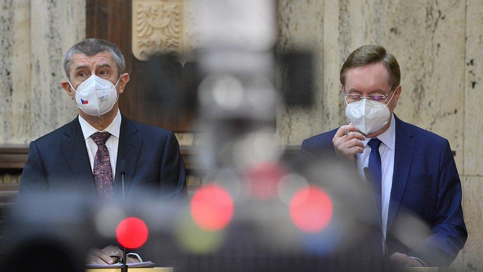 Premiér Andrej Babiš uvedl do funkce nového mistra zdravotnictví Petra Arenbergera 7. dubna v Praze.