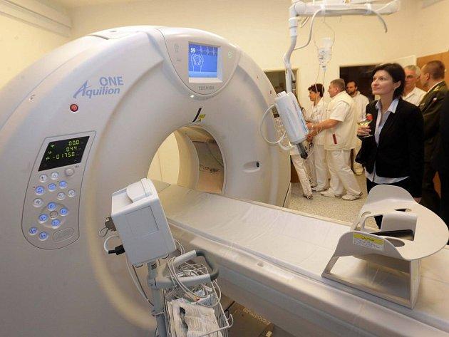 Moderní multidetektorové CT ve Vojenské nemocnici Olomouc