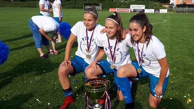 Juniorky 1. FC Olomouc zvítězily v moravské části 2. ligy a  zahrají si o postup do nejvyšší soutěže