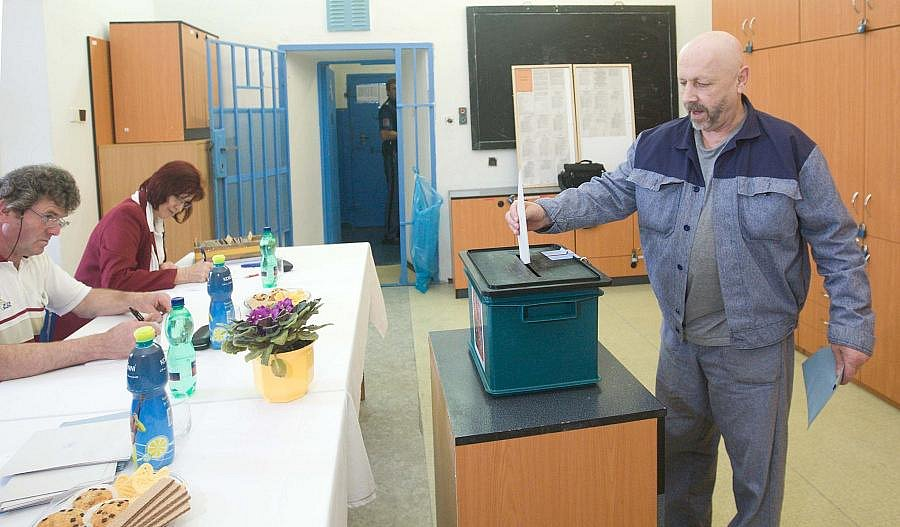 Parlamentní volby 2010 ve věznici Mírov