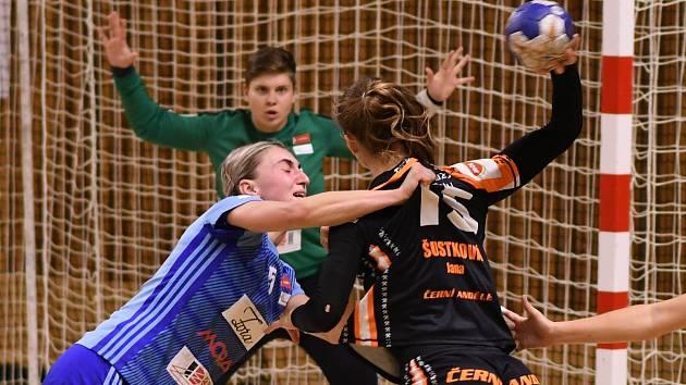 MOL liga házené - DHK Baník Most versus Zora Olomouc