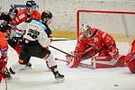 Hokejisté HC Olomouc (v červeném) hostili v rámci 33. kola Tipsport extraligy pražskou Spartu.