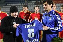 listopad 2012: Daniel Rossi se rozloučil s olomouckou Sigmou
