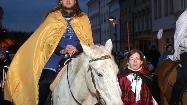 Tradiční vítání sv. Martina ve Šternberku