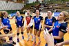 Olomoucké volejbalistky (v modrém). Ilustrační foto