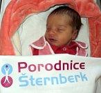 Matilda Janíčková, Moravská Huzová, narozena 10. prosince ve Šternberku, míra 50 cm, váha 3280 g