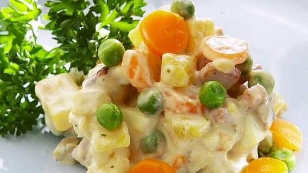 Bramborový salát. Ilustrační foto