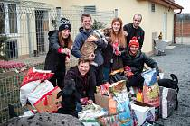 Loňský ročník sbírky se vydařil na jedničku. Z darů se radovali pejskové ze psího domova v Žerotíně.