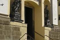 Kostel svatého Michala.