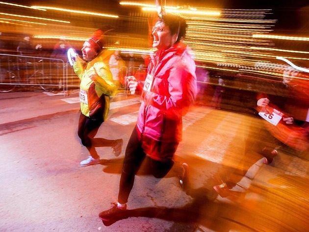 Noční běh. Ilustrační foto