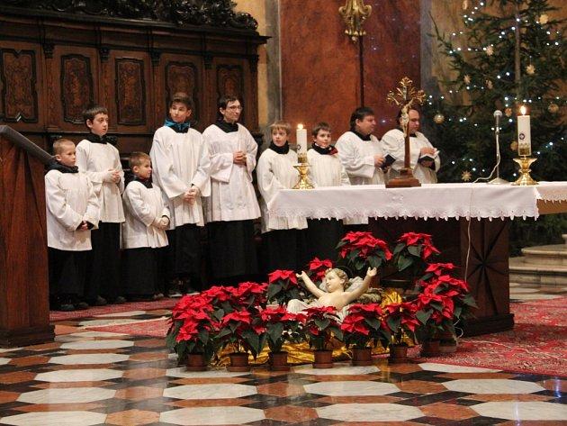 Dětská mše v kostele svatého Michala v Olomouci – 24. 12. 2014