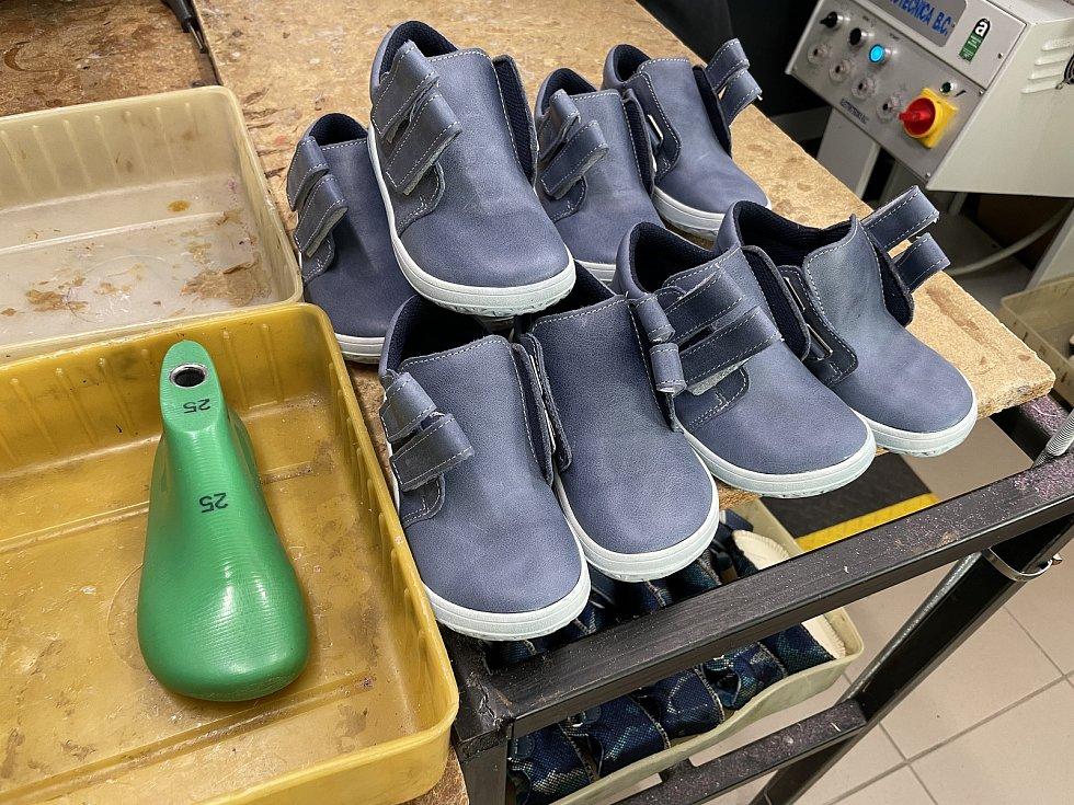 JONAP – výroba obuvi v Pasece, únor 2021