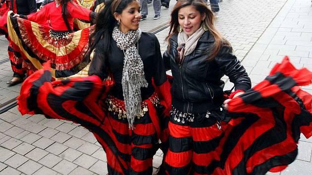 Den Romů v Olomouci. Ilustrační foto