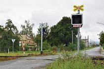Přípravy modernizace zabezpečovacího zabezpečení na přejezdech u vlakového nádraží v Senici na Hané, 8. 9. 2019