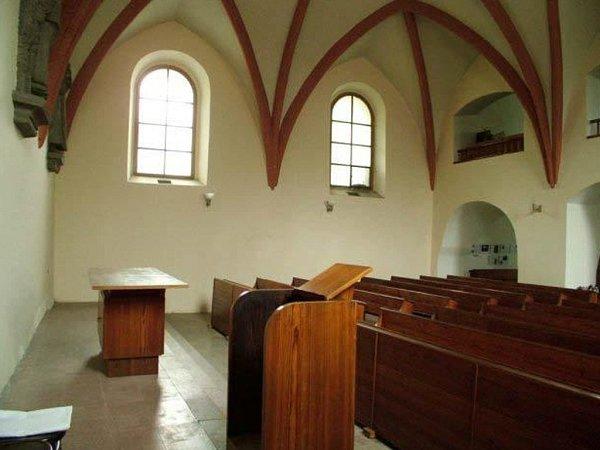 Opravená synagoga vLipníku nad Bečvou
