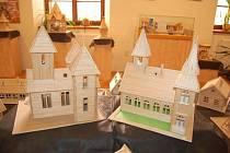 Výstavu Modely ze špejlí můžete navštívit v litovelském muzeu