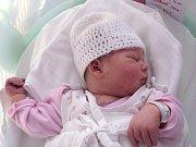 Gabriela Kretková, Horní Bečva, narozena 28. dubna v Olomouci, míra 52 cm, váha 4200 g