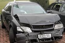 Nabourané auto primátora.