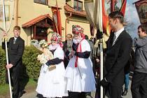 Ježíškovy matičky - tradiční velikonoční průvod v Bělkovicích-Lašťanech