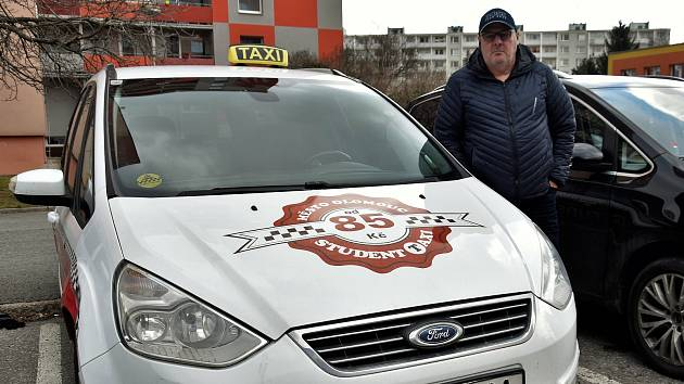 Jan Lang, provozovatel Student Taxi Olomouc