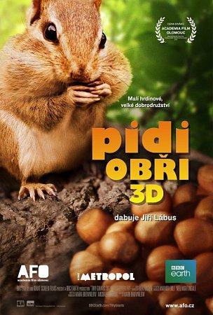 Pidiobři - přelomový 3D snímek zprodukce BBC