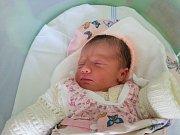 Julie Rašková, Olomouc, narozena 15. července v Olomouci, míra 51 cm, váha 3390 g.