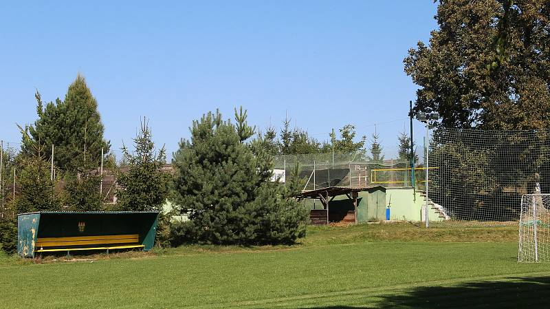 Bukovany. Sportovní areál