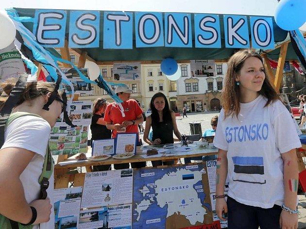 Den Evropy na olomouckém Horním náměstí
