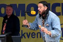 Ruda z Ostravy a Frekvence 1 vysílali 1. září z olomouckého Horního náměstí