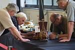 Výstava modelářů na olomouckém výstavišti Flora.