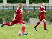Fotbalisté Uničova . Ilustrační foto