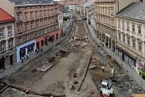Archeologové našli základy historické městské brány při rekonstrukci třídy 1. máje v Olomouci.
