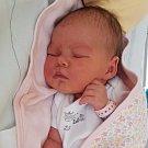 Barbora Krajčová, Bohuňovice, narozena 28. června, míra 51 cm, váha 3960 g