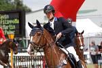 Martin Řezníček, třetí místo. Světový pohár CSI*** Olomouc. Závody pro šestileté a sedmileté koně.