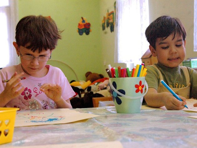 Specializovaná školka pro různě handicapované děti v Blanické ulici v Olomouci. Ilustrační foto