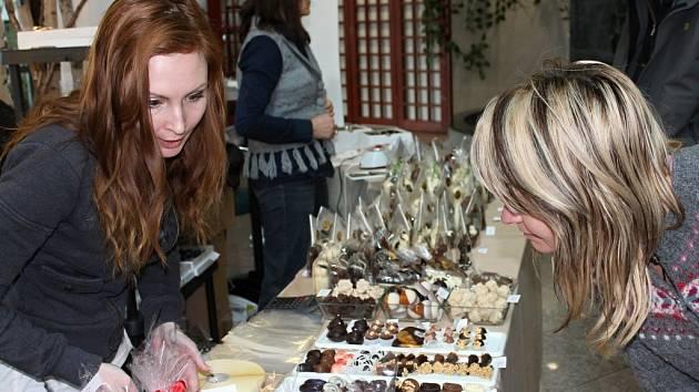 Čokoládová show v Regionálním centru Olomouc