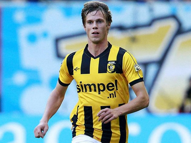 Tomáš Kalas v dresu nizozemského Vitesse Arnhem