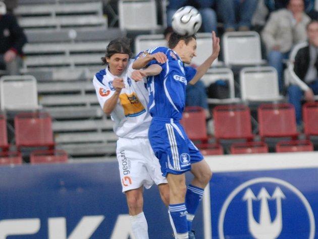 Olomoučtí fotbalisté nedokázali ve 24. kole Gambrinus ligy navázat na tříbodový zisk s Kladnem, když prohráli na Slovácku.