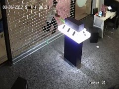 Záběry na zloděje z kamerového systému