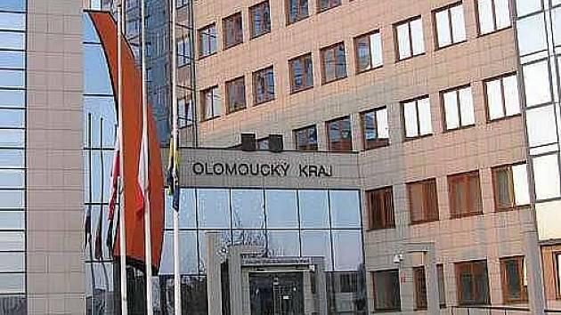 Krajský úřad v Olomouci. Ilustrační foto