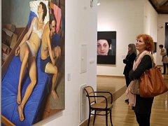 Fascinace skutečností - hyperrealismus v české malbě. Expozice v Muzeu umění Olomouc