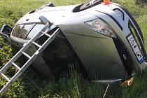 Nehoda opilého řidiče mezi Litovlí a Novými Zámky
