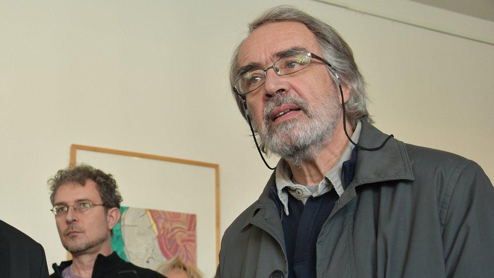 Bývalý ředitel Muzea umění Olomouc Pavel Zatloukal
