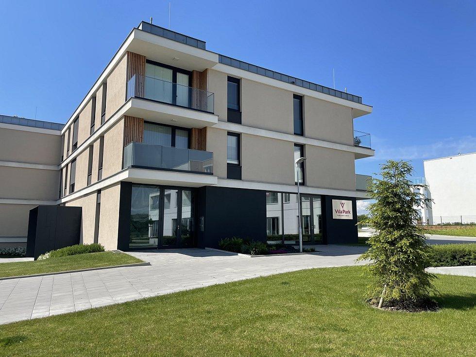 Vila Park Tabulový Vrch v Olomouci, červen 2021