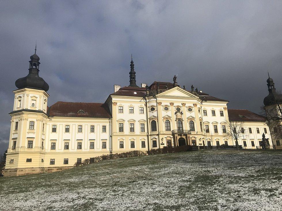 Vojenská nemocnice Olomouc je jedním ze dvou distribučních míst v Olomouckém kraji, kde jsou skladovány dodávky vakcíny proti Covid-19, 13. ledna 2021