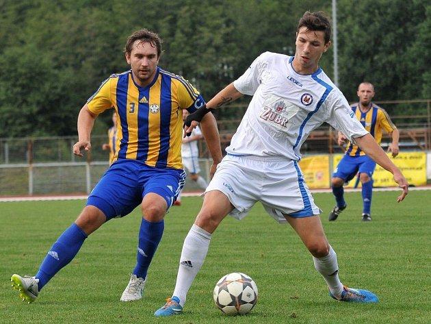 Přerovský David Pavelka (vpravo)
