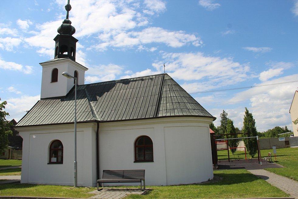 Kaple Nanebevzetí Panny Marie v Břuchotíně