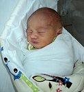 Matěj Friedl, Mohelnice, narozen 17. září ve Šternberku, míra 50 cm, váha 3250 g