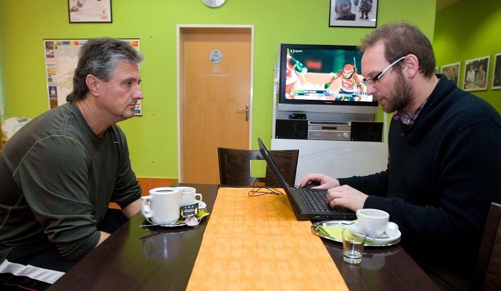 Kapitán daviscupového týmu Jaroslav Navrátil